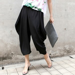 [zoozoom] Stingray fit baggy pants 3color / 20365