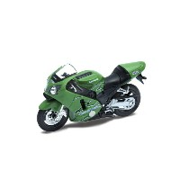 WELLY 1/18 カワサキ 2001 ニンジャ ZX-12R(グリーン)【WE12167PW】