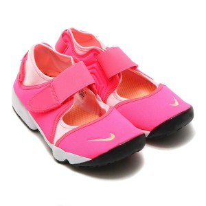 NIKE RIFT GS/PS(ナイキ リフト GS/PS)(RACER PINK/SUNSET GLOW-PRISM PINK-WHITE)【キッズ スニーカー】17SU-S