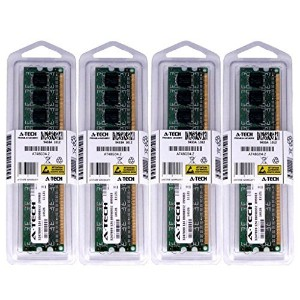 8 GBキット( 4 x 2 GB ) for Dell Inspiron 560 560s 570 580 580s。ECC DIMM ddr3 pc3 – 8500 1066 MHz...