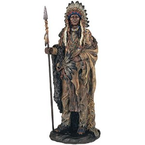 StealStreet SS-G-11358 Native American Warrior Collectible Indian Decoration Figurine Statue [並行輸入品]