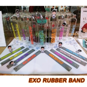 EXO RUBBER BAND SLAP BRACELET / SUM 公式グッズ