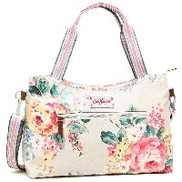 キャスキッドソン バッグ CATH KIDSTON 594288 ZIPPED HANDBAG W DETACHABLE STRAP NORFOLK ROSE ショルダーバッグ・2WAYバッグ STO