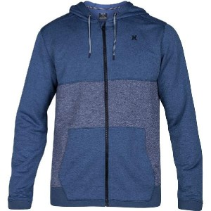 (取寄)ハーレー メンズ Dri-FitDisperseBockedフルジップ パーカー Hurley Men's Dri-Fit Disperse Bocked Full-Zip Hoodie...