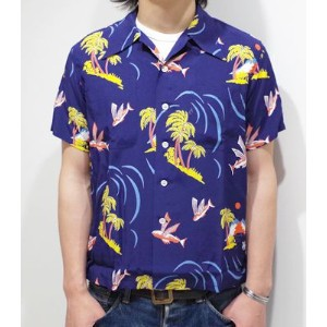 SUN SURF サンサーフ Special Edition DUKE KAHANAMOKU '15MODEL『SOUTH SEA PARADISE』【洋柄・アロハ】DK36982(Aloha)