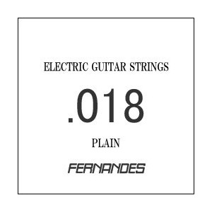 FERNANDES / Electric or Acoustic Plain .018 GS-018 エレキギター弦 バラ弦