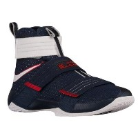 (取寄)ナイキ メンズ レブロン ソルジャー 10 Nike Men's LeBron Soldier 10 Obsidian White University Red
