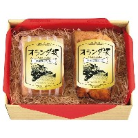 15%OFF お中元 オランダ坂 雲仙クリーンポーク ハム2点セット ハム・精肉 雲仙クリーンポーク(お中元)
