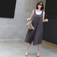 [zoozoom] Wide cotton jumpsuit 1color / 26841