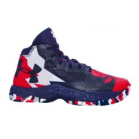 """Under Armour Curry 2.5 """"USA""""キッズ Midnight Navy/Red/White アンダーアーマー バッシュ ステフィンカリー"""