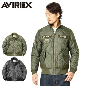 AVIREX アビレックス 6162141 QUILTED ARMY ジャケット【WIP03】