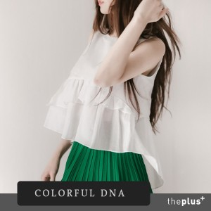 ★COLORFUL DNA★ cute blouse / DESIGN BY KOREA /