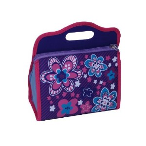 Neat-Oh Blossom Bags Blue Lunch Box [並行輸入品]