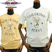 TOYS McCOYトイズマッコイ ミリタリーTシャツ TOM and JERRYトムandジェリー「SAILORMAN JERRY」TMC1751