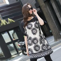 [zoozoom] Flower coloring cool blouse 1color / 26645