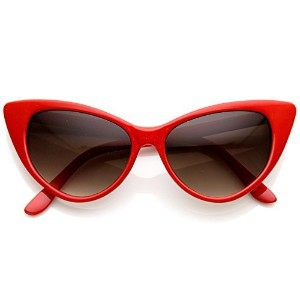 [アメリカ直送] [サングラス] MLC EYEWEAR Designer Inspired Super Cat Eye Sunglasses Cherry Red-MLC-SPCatEye-RD