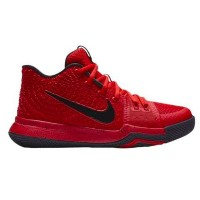 """Nike Kyrie 3 """"University Red"""" キッズ/レディース University Red/Black/Team Red ナイキ カイリー3 Kyrie Irving カイリー..."""