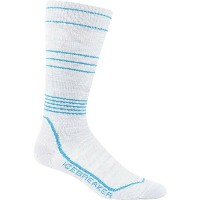 アイスブレーカー Icebreaker レディース スキー ソックス【Ski+ Compression Ultralight Sock】Blizzard Heather/Alpine