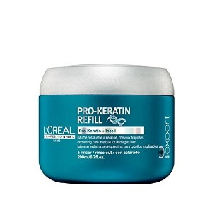 L'Oreal Professionnel Serie Expert Pro-Keratin Refill Hair Masque (200ml) - ロレアルのプロフェッショナル...