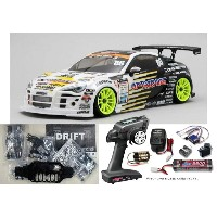 ヨコモ ドリフトパッケージ Team UP GARAGE FALKEN 86キット+MX-V 2.4GHz BL-Sport EP START SET #DP-UF86A-MX-V