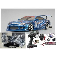 ヨコモ ドリフトパッケージ Team TOYO with GP SPORTS S15 SILVIAキット+MX-V 2.4GHz BL-Sport EP START SET #DP-TYS15A...
