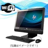 中古パソコン Windows7【無線付】【23インチ大画面】HP Compaq 8200 Elite All-in-One Core i3 2120 3.3G/4G/250GB/DVD-ROM