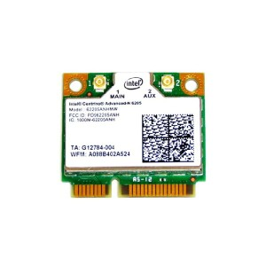 インテル Intel Centrino Advanced-N 6205 Dual Band 2.4GHz/5GHz 802.11a/b/g/n 300Mbps PCIe Mini half...