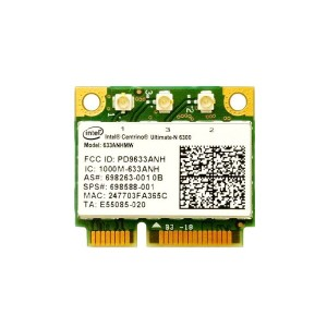 インテル Intel Centrino Ultimate-N 6300 Dual Band 2.4GHz/5GHz 802.11a/b/g/n 3×3 450Mbps PCIe Mini half...