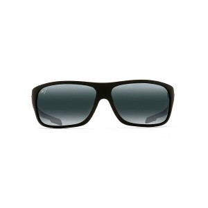 マウイジム メンズ アクセサリー メガネ・サングラス【Maui Jim Island Time Polarized Sunglasses】Matte Black Rubber / Neutral...