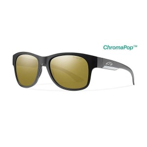 スミス メンズ アクセサリー メガネ・サングラス【Smith Wayward ChromaPop+ Polarized Sunglasses】Matte Black / Polarized...