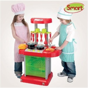 [HTI] Smart Cook and Go mini kitchen / toy / play kitchen / kitchenette play / child items / gifts