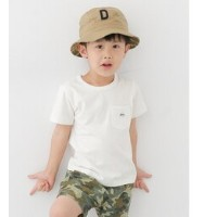 DOORS Lee×DOORS-natural- WAPPEN POCKET T-SHIRTS(KIDS)【アーバンリサーチ/URBAN RESEARCH キッズ その他(トップス) WHITE...