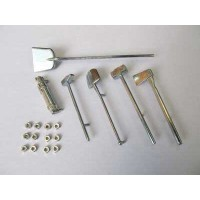 MatoToys Tiger1用メタルツールセット(Tiger I metal tools)MT029