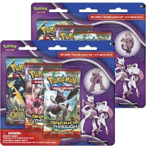 【Pokemon XY Breakthrough Collector's Pin Pack - Mega Mewtwo Y】 b0187rswhu