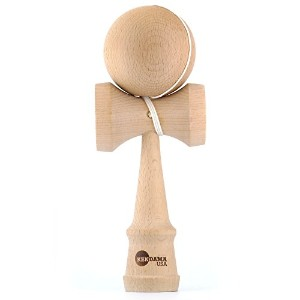 【KENDAMA USA けん玉 Tribute JUMBO ナチュラル Jumbo NTR】 b00gxd9nf6
