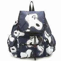 LeSportsac 7839 G071 SNOOPY TOSS ボイジャー バックパック VOYAGER BACKPACK リュックサック バッグ かばん レスポートサック