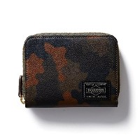 (ヘッド・ポーター) HEADPORTER OTUN WALLET (M) DARK GREEN