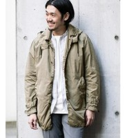 DOORS 2 Way High Count Coat【アーバンリサーチ/URBAN RESEARCH ノーカラーコート】