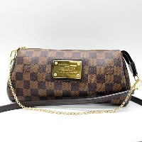 ★【LOUIS VUITTON】ルイヴィトン ダミエ エヴァ チェーンポーチ/クラッチバッグ N55213【新古品・未使用】