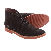 ウォークオーヴァー Walk-Over メンズ シューズ・靴 ブーツ【BUKS by Wallen Chukka Boots - Suede 】Chocolate Suede