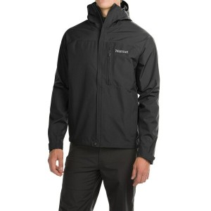 マーモット Marmot メンズ アウター レインコート【Optima Gore-Tex PacLite Jacket - Waterproof 】Black