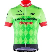 ピーオーシー メンズ サイクリング スポーツ POC Cannondale Drapac Team Jersey - Men's Cannondale Green