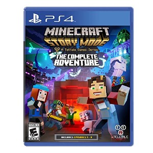 Minecraft Story Mode Complete Adventure (輸入版:北米) - PS4