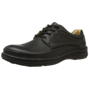[クラークス] Clarks Nature Three 20339008 Black Leather(Black Leather/UK9.5)