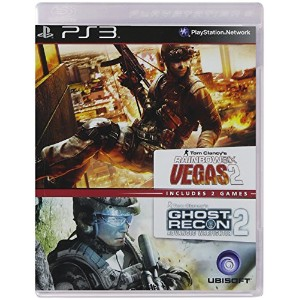 Ghost Recon: Advanced Warfighter 2+ Rainbow Six: Vegas 2 (輸入版)