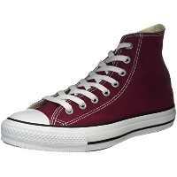 [コンバース] CONVERSE CANVAS ALL STAR HI CVS AS HI 1C032 (マルーン/3.5)
