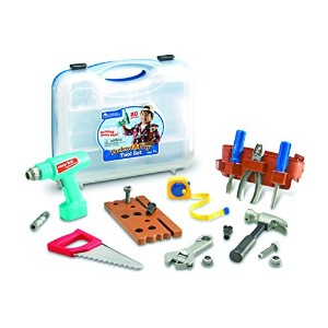 Learning Resources Pretend & Play® Tool Set 【ままごと 大工さんごっこ】 工具セット 正規品