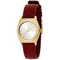 [ニクソン]NIXON SMALL TIME TELLER LEATHER: LT GOLD/SADDLE NA5091976-00 レディース 【正規輸入品】