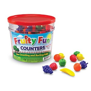 Learning Resources Fruity Fun Counters 【知育玩具 算数教材】 カラフルカウンター 果物 正規品