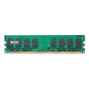 BUFFALO DDR2 667MHz SDRAM(PC5300)240pin DIMM 2GB D2/667-2G